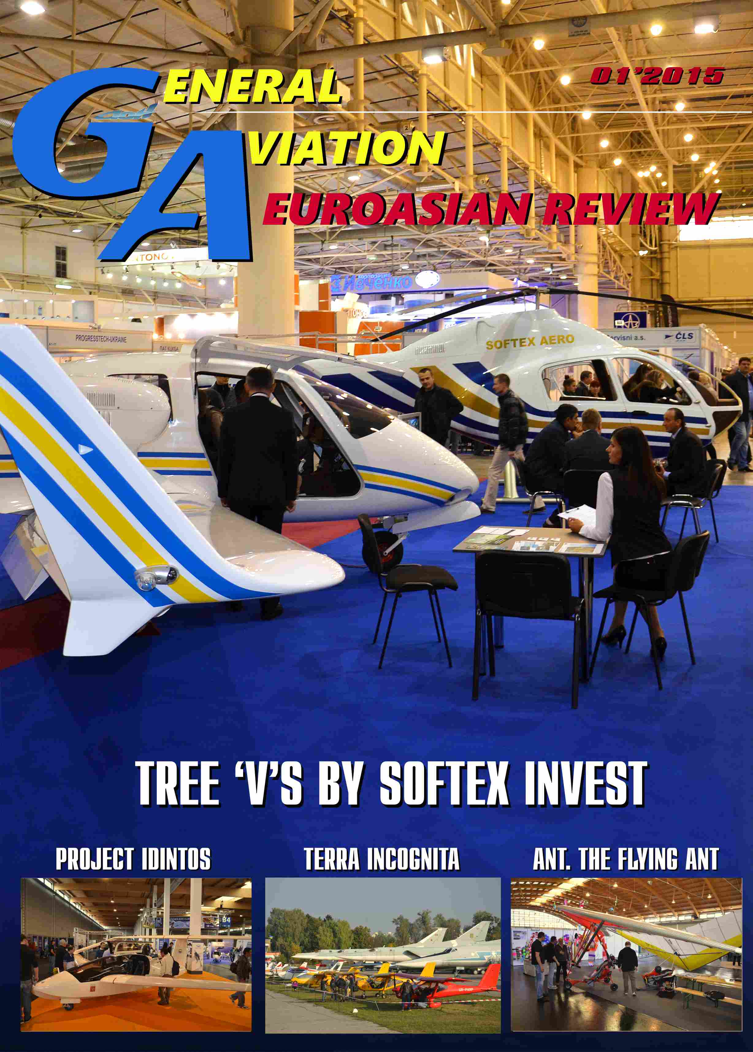 General Aviation EuroAsian Review Cover